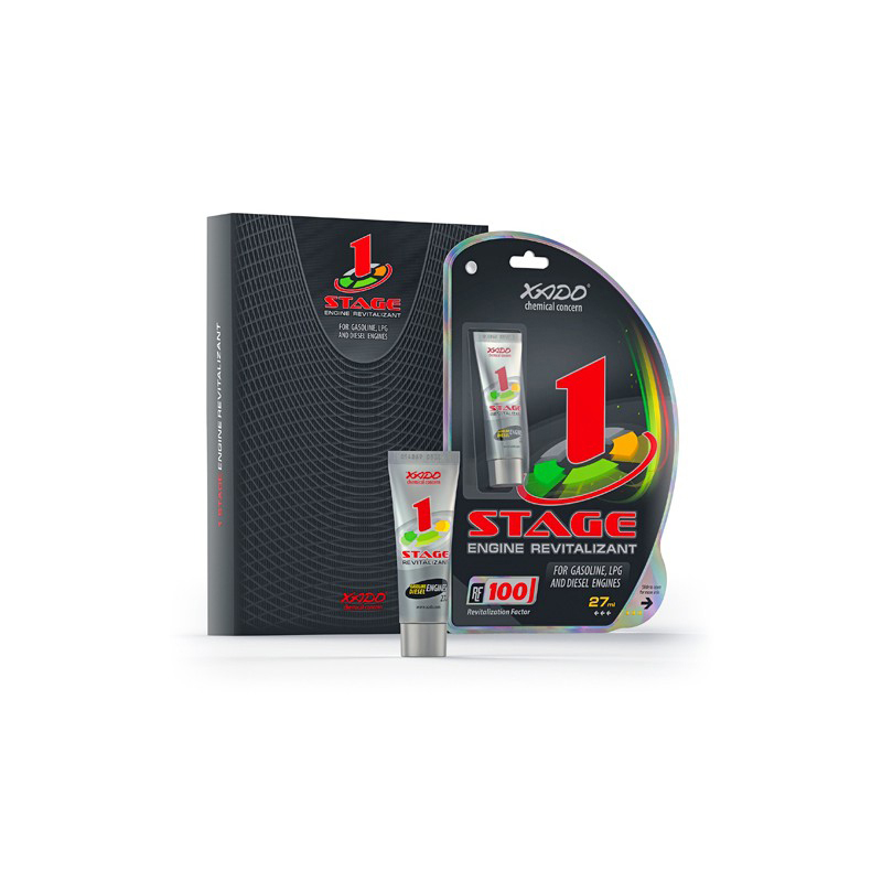 Xado 1 Stage Engine Oil Additive Treatment Saves Fuel Reduce